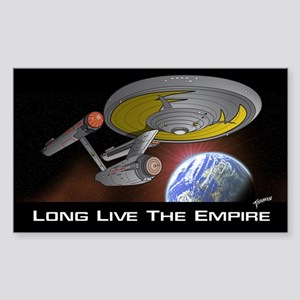 Long Live The Empire Sticker (Rectangle)