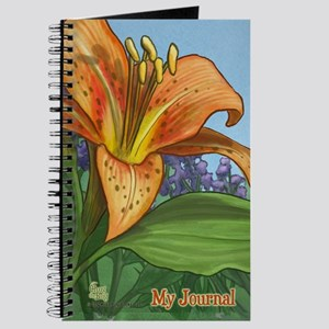 Tiger Lily Journal Journal