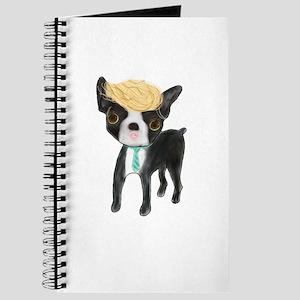 Trumped Boston terrier Journal