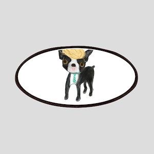 Trumped Boston terrier Patch