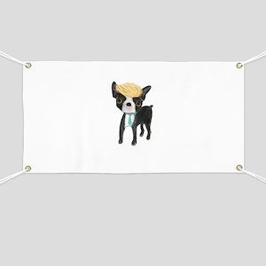 Trumped Boston terrier Banner