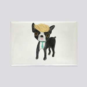 Trumped Boston terrier Magnets