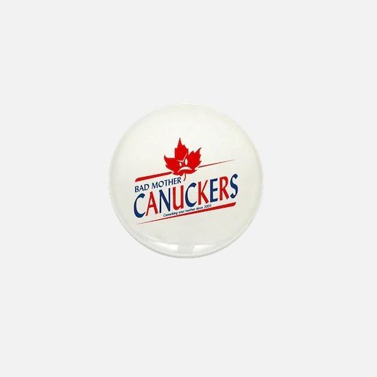 Canadian with Attitude Mini Button