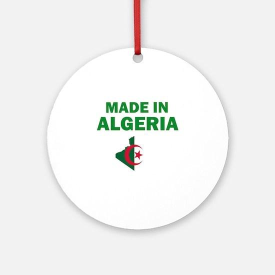 Made In Algeria Ornament (Round)