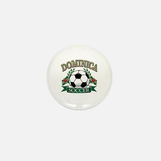 Dominican Football Mini Button