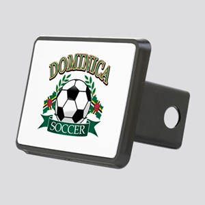 Dominican Football Rectangular Hitch Cover