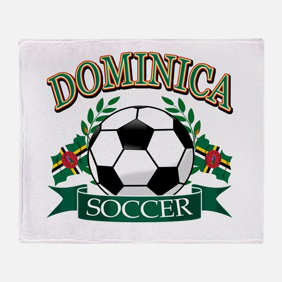 Dominican Football Throw Blanket