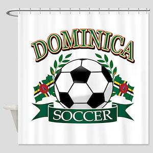 Dominican Football Shower Curtain