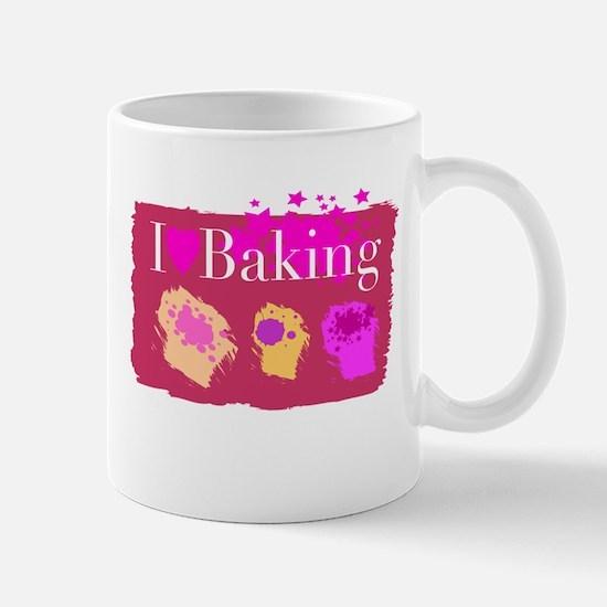 I Heart Baking Mug