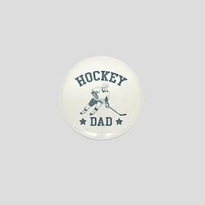 Hockey Dad Mini Button