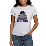 Trucker Donna Women's T-Shirt