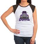 Trucker Donna Women's Cap Sleeve T-Shirt