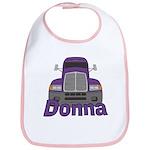 Trucker Donna Bib
