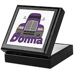 Trucker Donna Keepsake Box