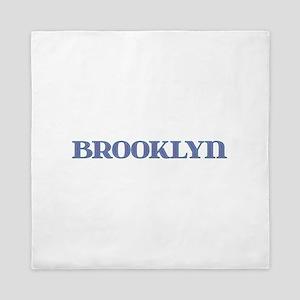 Brooklyn Blue Glass Queen Duvet