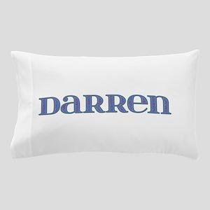Darren Blue Glass Pillow Case