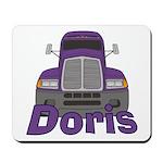 Trucker Doris Mousepad