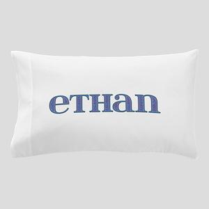 Ethan Blue Glass Pillow Case