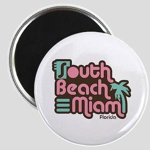 South Beach Miami Florida Magnet