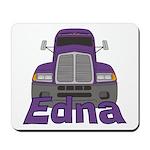 Trucker Edna Mousepad