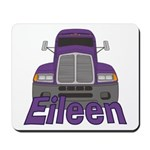 Trucker Eileen Mousepad
