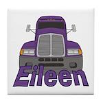 Trucker Eileen Tile Coaster