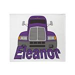 Trucker Eleanor Throw Blanket