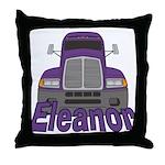 Trucker Eleanor Throw Pillow