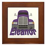 Trucker Eleanor Framed Tile