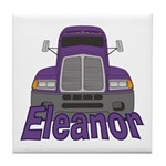 Trucker Eleanor Tile Coaster
