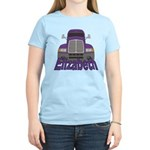 Trucker Elizabeth Women's Light T-Shirt