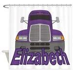 Trucker Elizabeth Shower Curtain