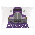 Trucker Elizabeth Pillow Case