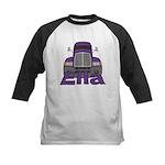 Trucker Ella Kids Baseball Jersey