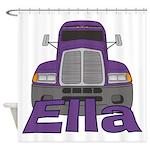 Trucker Ella Shower Curtain