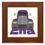 Trucker Ella Framed Tile