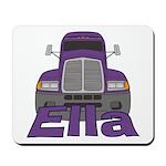 Trucker Ella Mousepad