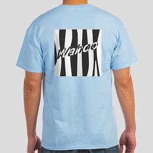 Wahoo Stripe Light Blue T-Shirt