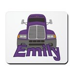 Trucker Emily Mousepad
