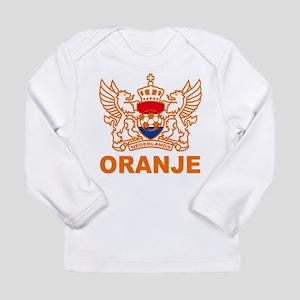 Netherlands World Cup Soccer Long Sleeve Infant T-