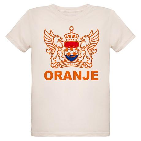 Netherlands World Cup Soccer Organic Kids T-Shirt