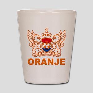 Netherlands World Cup Soccer Shot Glass