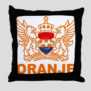 Netherlands World Cup Soccer Throw Pillow