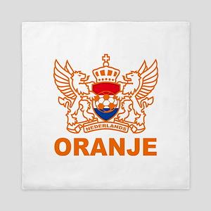Netherlands World Cup Soccer Queen Duvet