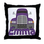 Trucker Emma Throw Pillow