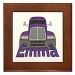 Trucker Emma Framed Tile