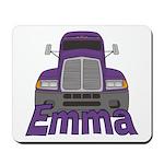 Trucker Emma Mousepad