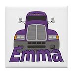 Trucker Emma Tile Coaster