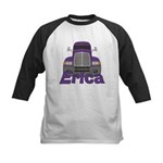 Trucker Erica Kids Baseball Jersey