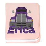 Trucker Erica baby blanket
